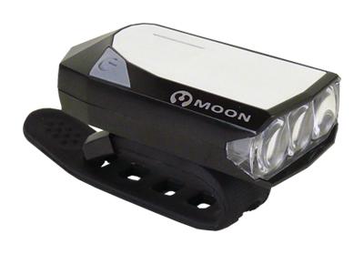 světlo přední MOON GEM 2.0 3LED 16lm USB nabíjecí
