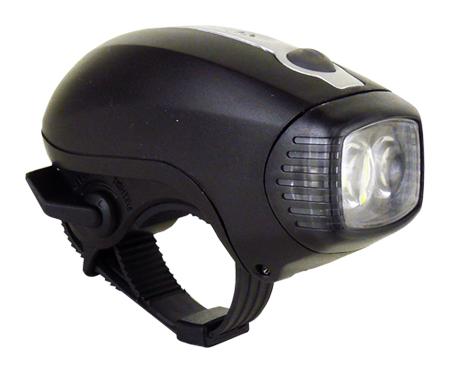 světlo přední MOON M-2 2LED 20lm černé
