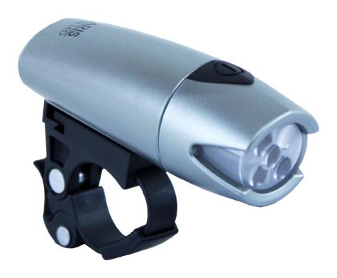 světlo přední SMART BL-183-5 LED stříbrné
