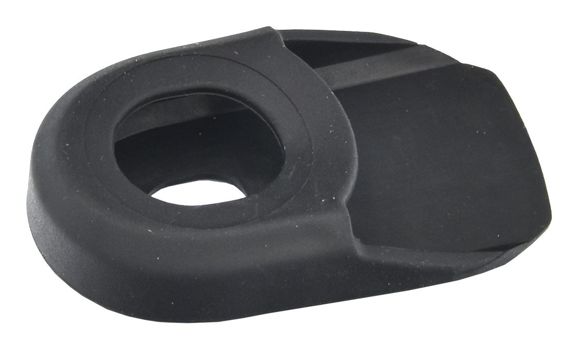 kryt na kliky PROFIL CB01 gumový černý