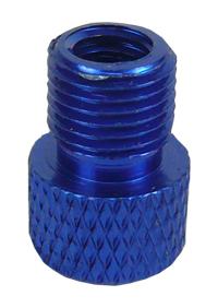 redukce ventilku COLOURY MT-307 z FV na AV modrá