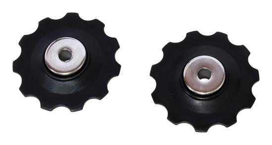 kladka měniče PROFIL PUL-P 11T plast černé /2ks/