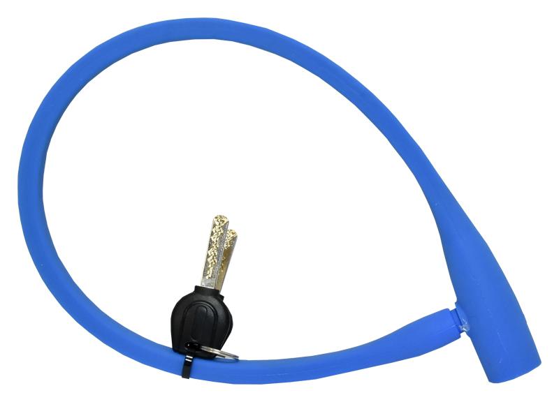 zámek TONYON TY-4543 silicone, 12x600 modrý