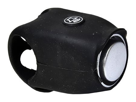 zvonek PROFIL elektronický silicon černý