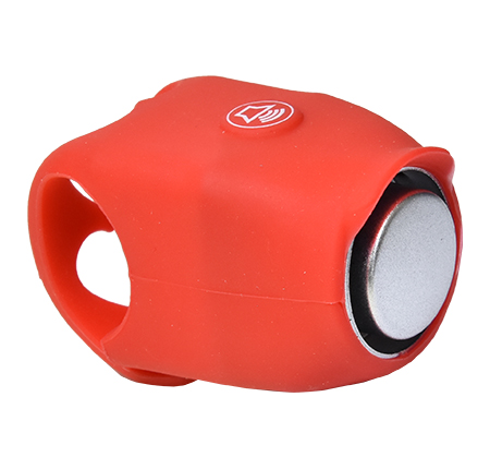 zvonek PROFIL elektronický silicon červený