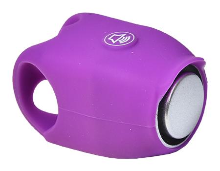 zvonek PROFIL elektronický silicon fialový