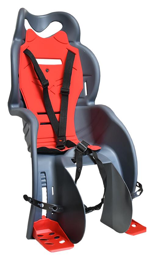 sedačka zadní SANBAS-P na nosič tmavě šedá