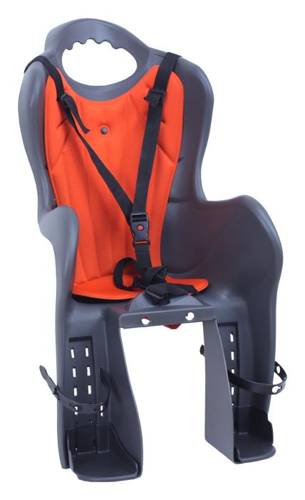 sedačka zadní ELIBAS-P na nosič tmavě šedá