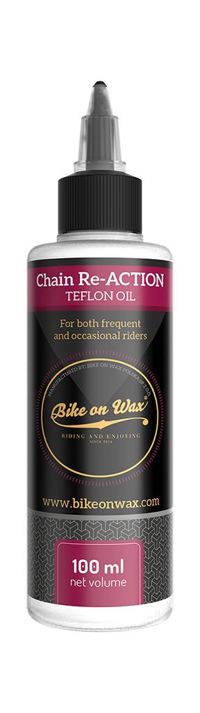 olej na řetěz s teflonem CHAIN Re-ACTION /lahvička/ 100 ml