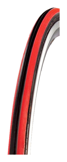 plášť CST 622x23 červený pruh