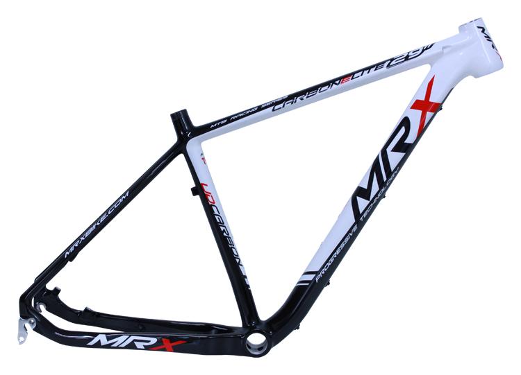 """rám 29"""" MRX carbon černo-bílo-červený"""