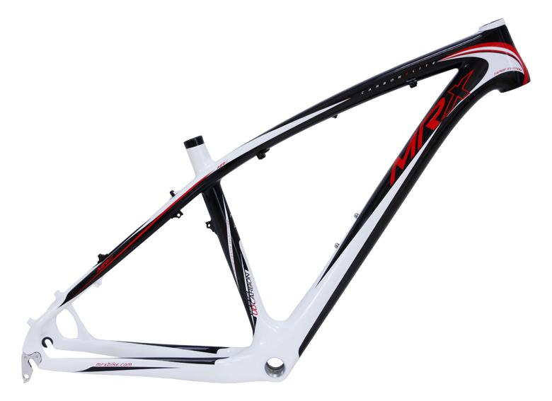"""rám 26"""" MRX Evo carbon černo-bílo-červený"""