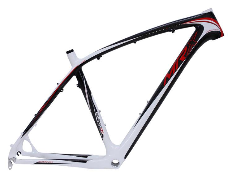 """rám 29"""" MRX Evo carbon černo-bílo-červený"""