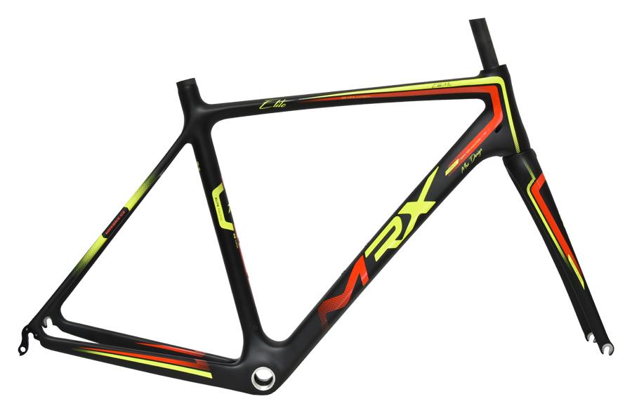 rám siln. MRX-Carbon X7 540mm černo-žlutý