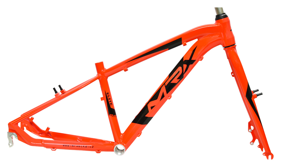 """rám 24"""" MRX-Elite X7 13"""" oranžový+vidlice"""