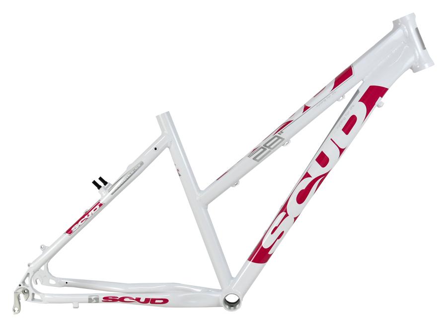 """rám 28"""" SCUD-lady 7SC 17"""" bílo-růžový"""