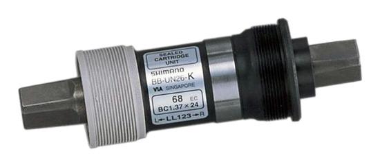 osa středová BBUN25 127mm