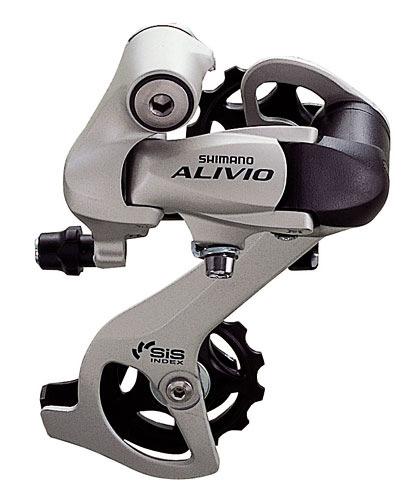 přehazovačka Alivio RDM410-8 stříbrná