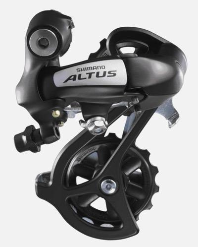 přehazovačka Altus RDM310-8 černá