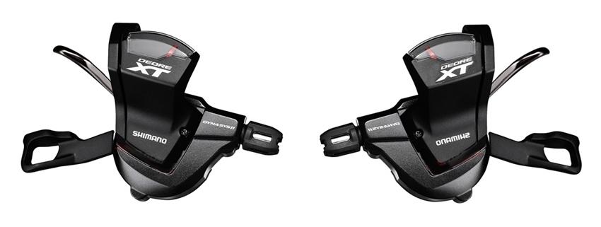 řadící páčky XT SLM8000 2x11