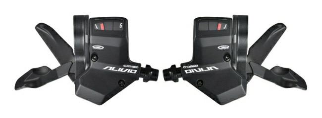 řadící páčky Alivio SLM430 3x9
