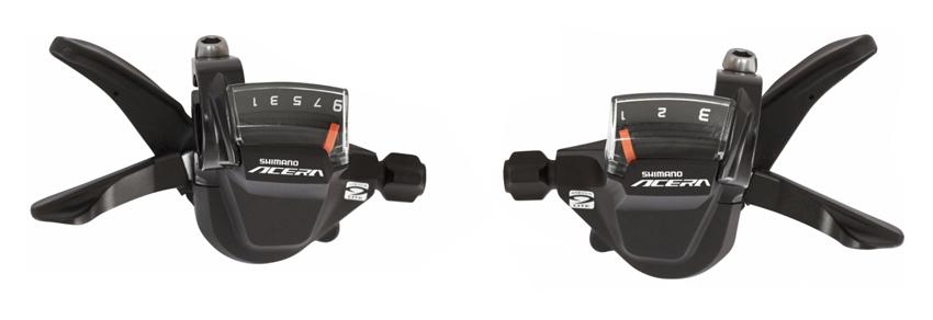 řadící páčky Acera SLM3000 3x9